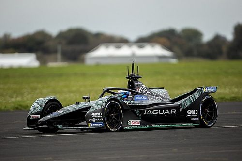Bird completes first Formula E test with Jaguar