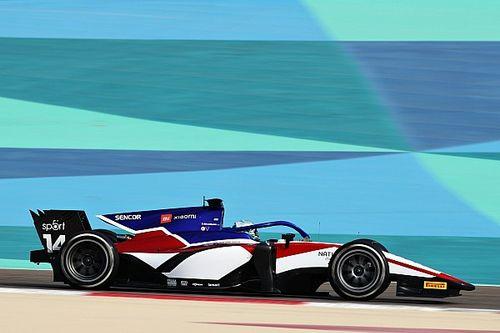 Nederlanders buiten top-10 op eerste testdag F2, Beckmann snelste