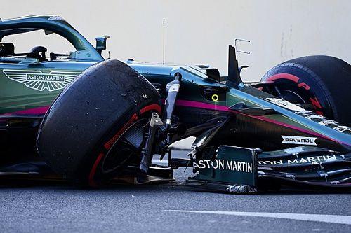Pirelli believes Baku tyre blowouts were caused by debris