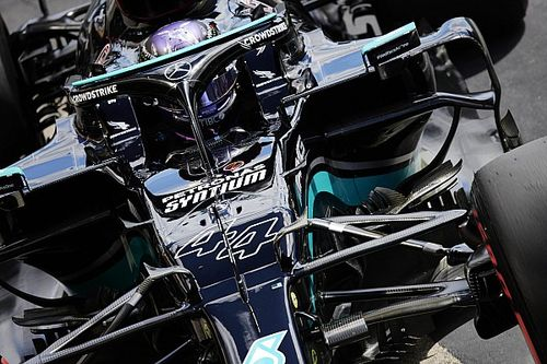 Sainz verbaasd door gemak inhaalacties Hamilton in Portugal
