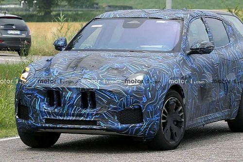 Készül a Maserati új SUV-je, íme pár kép róla