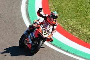 World Superbike Race report Imola WSBK: Davies does the double after red-flag delay
