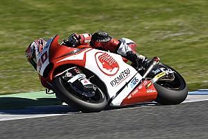 Moto2 Reporte de pruebas Nakagami sorprende a los Estrella Galicia en el arranque del test de Qatar