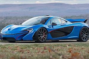 Auto Actualités Un record aux enchères pour une McLaren P1