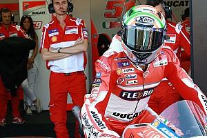 MotoGP Réactions Pirro fait un passage éclair, récompensé par un top 5