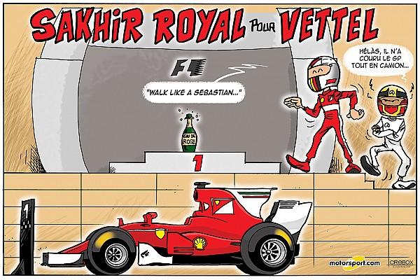 Formule 1 Le Grand Prix de Bahreïn 2017 vu par Cirebox