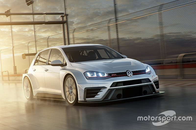 Volkswagen präsentiert modifizierten TCR-Golf für 2017