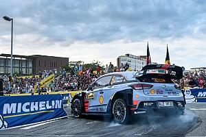 WRC Noticias de última hora Neuville lastra sus opciones de título por un toque en Alemania