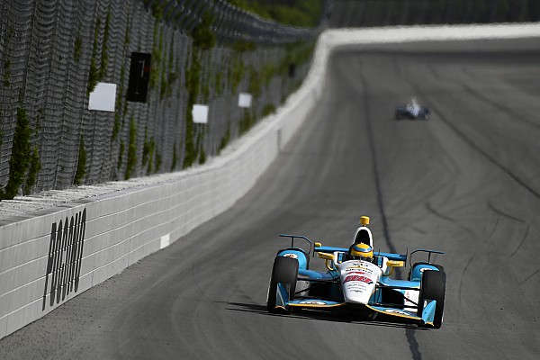 Chaves satisfecho con su primer test con Harding Racing
