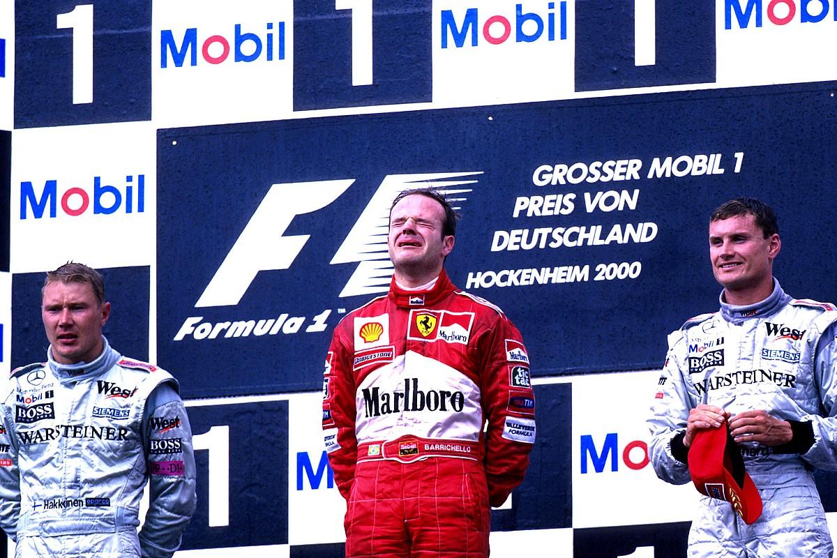 """Barrichello: """"Leclerc moet sterk zijn in het hoofd"""""""