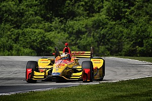 IndyCar Practice report Road America IndyCar: Hunter-Reay tops warm-up