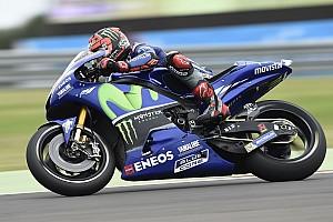 MotoGP Practice report MotoGP Argentina: Vinales tercepat di warm-up, Rossi P12