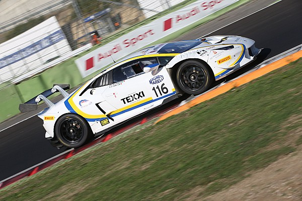 GT Italiano Gara Super GT Cup-GT Cup: Gara 1 di Vallelunga va alla Lamborghini di Cazzaniga-D'Amico