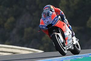 MotoGP Practice report Jerez MotoGP: Dovizioso beats Marquez by 0.007s in FP1