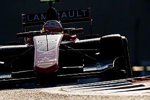 GP3 Новость Юбер потерял поул воскресной гонки GP3 в Абу-Даби