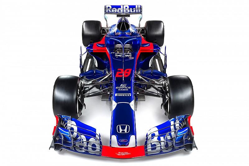 Toro Rosso presenta el ya conocido STR13, su primer coche con motor Honda