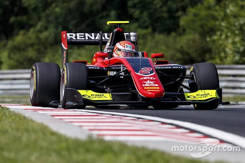 Hubert si prende la pole all'Hungaroring, Mazepin regala la prima fila alla ART Grand Prix