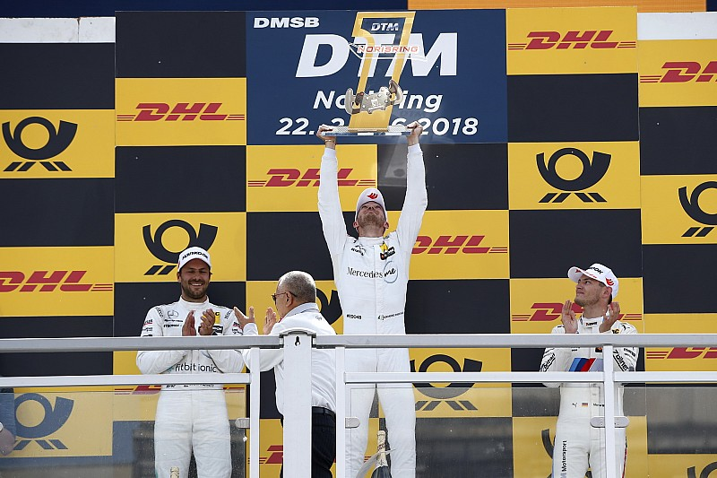 Mortara suma su segunda victoria de la temporada del DTM en Norisring