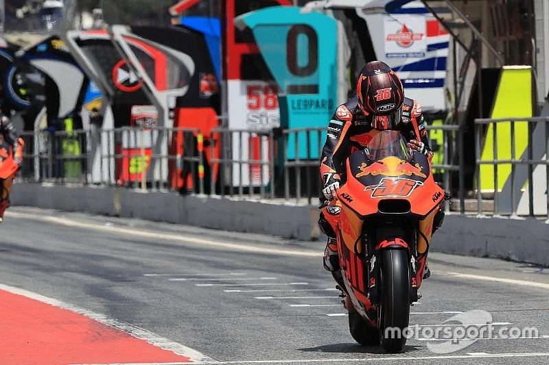 KTM запретит тест-пилотам участвовать в гонках MotoGP