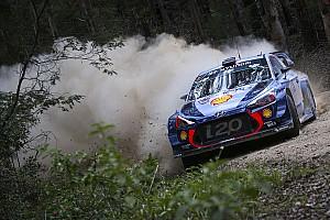 WRC Resumen de la etapa Mikkelsen pierde el liderato en Australia por un doble pinchazo