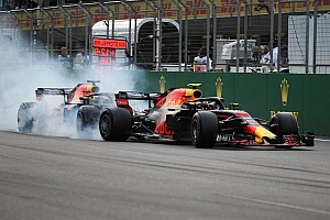 Fotogallery: ecco la sequenza dell'incidente delle Red Bull a Baku