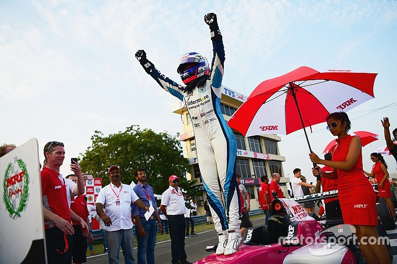 Chadwick: First single-seater title