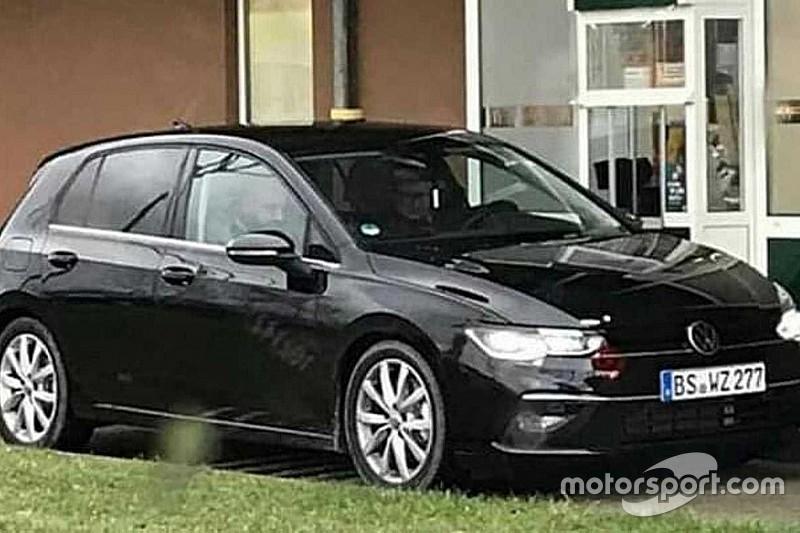 Volkswagen Golf VIII зловили без камуфляжу