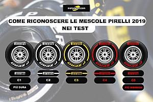 Pirelli: la finestra di funzionamento delle gomme 2019 si apre a 30 gradi