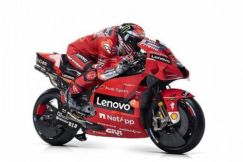 Ducati reveals revised 2021 MotoGP bike livery