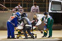 """Grosjean reste hospitalisé : """"Il a les idées claires, il va bien"""""""