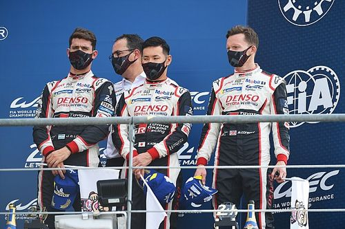 Toyota ya no sabe cómo consolar a López, Conway y Kobayashi