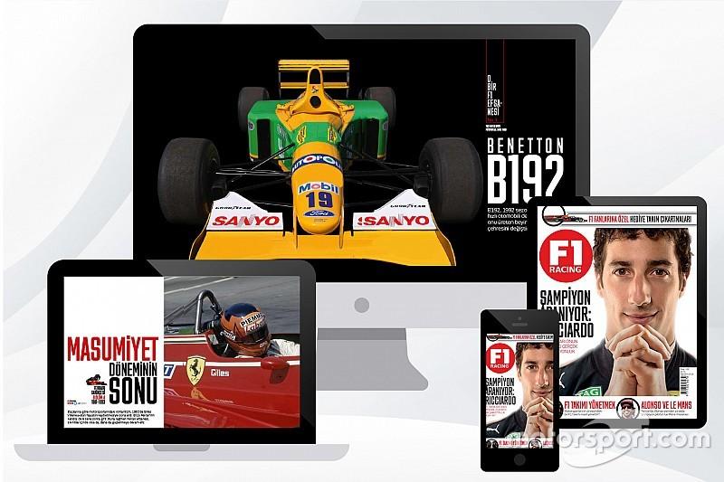 F1 Racing Ağustos sayısı bayilerde sizi bekliyor