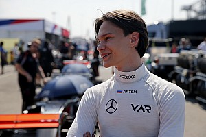Артем Петров перешел в Формулу 3
