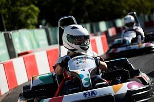 Un evento olímpico alberga, por primera vez, una carrera de karts