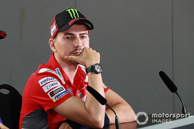 Лоренсо пропустит четвертую гонку MotoGP подряд