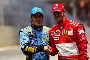Alonso: Schumacher'den sonraki hiçbir rakibim onun kadar zorlayıcı olmadı