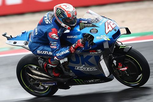 Rins lidera el Warm Up de MotoGP en San Marino