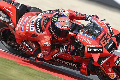 """Bagnaia: """"Ducati deve migliorare se vogliamo puntare al titolo"""""""