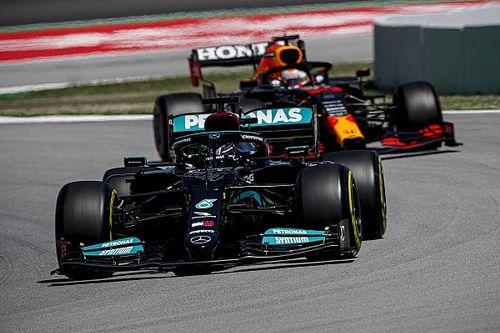 西班牙大奖赛排位赛:汉密尔顿力压维斯塔潘,夺下个人第100杆