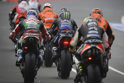 Analyse: Flag-to-flag races in de MotoGP, gevaarlijk of charme?
