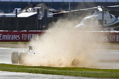 Silverstone modifie un vibreur suite aux inquiétudes sur les pneus
