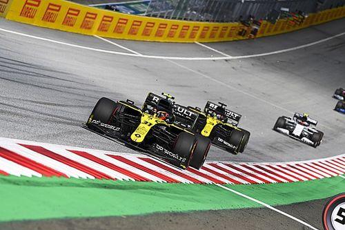 Ricciardónak egyáltalán nem volt gondja a hűtéssel, és sokkal hamarabb léphet oda a Renault-nak