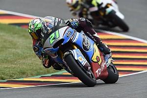 Moto2 Qualifiche Morbidelli vola sul bagnato e centra la pole al Sachsenring