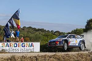 WRC Leg звіт Ралі Італія: малий хаос на старті