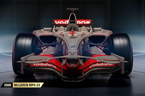 Full F1 2017 classic car list revealed