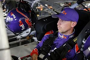 NASCAR Sprint Cup Crónica de entrenamientos Denny Hamlin lidera la primera práctica en Indianápolis