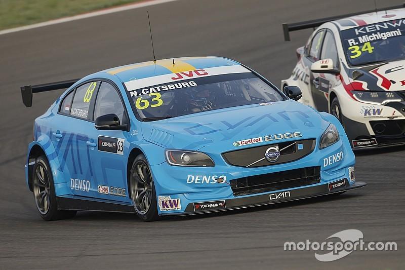 Nicky Catsburg y su Volvo S60, pole en el WTCC de Argentina