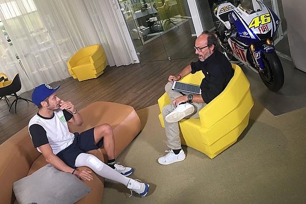 MotoGP Valentino Rossi dreht 20 Runden in Misano und macht seinen Fans Mut