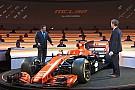 McLaren presenta el MCL32 Honda de F1 para 2017