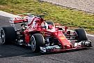 Formula 1 2017 Barcelona testleri: 1. gün sabahının lideri Vettel